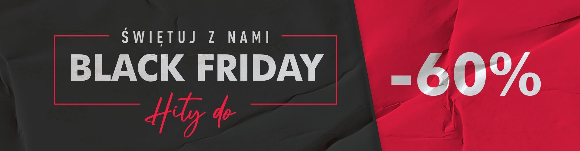 Świętuj z nami Black Friday